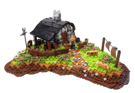 lego cottage charming cottage the brothers brick the