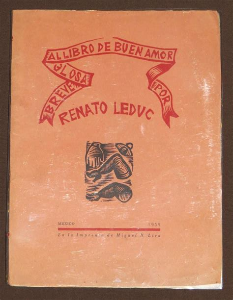 preguntas sobre el libro de buen amor breve glosa al libro de buen amor renato leduc f 225 bula 1939