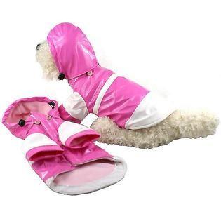 Pet Rempel Twotone pet two tone pvc raincoat w removable small multi pet supplies supplies apparel