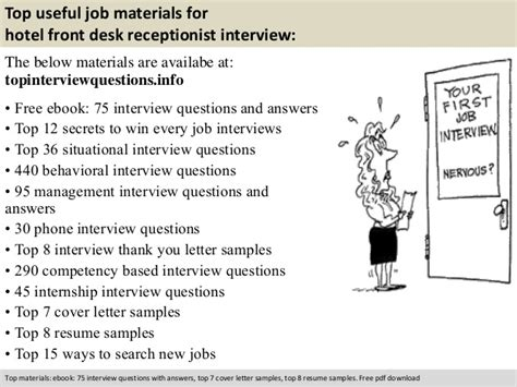 front desk interview questions hotel front desk receptionist interview questions