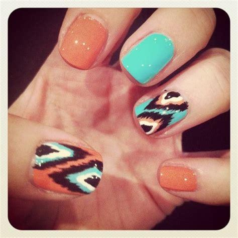 Pattern Nails Tumblr | nail art design on tumblr