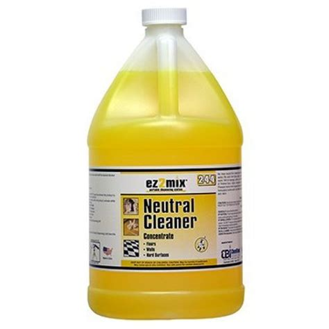 dilution neutral floor cleaner