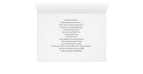 Parent Thank You Letter Wedding Wedding Thank You Card To Parent Zazzle