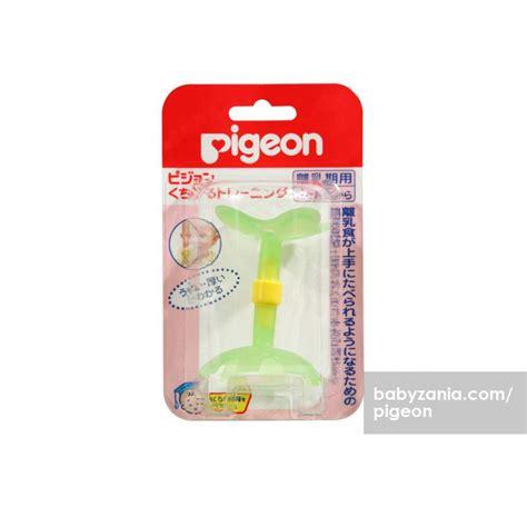 Pigeon Step 2 Teether Gigitan Bayi mainan untuk merangsang perkembangan bayi 6 bulan dhian toys