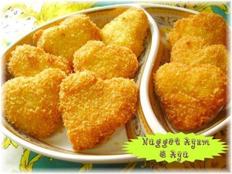 cara membuat nugget ayam isi mozarella koleksi resepi camarputih home made nugget