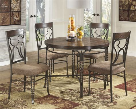circular dining room table ashley furniture signature designsandling round dining