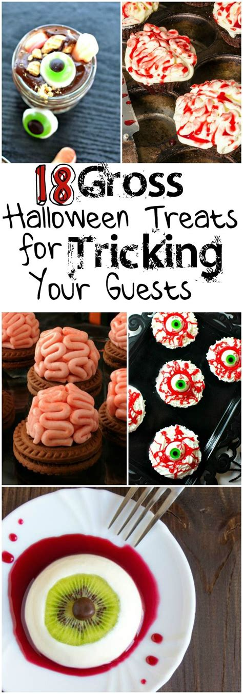 7 Treats For Guests by 18 Gross Treats For Tricking Your Guests The O