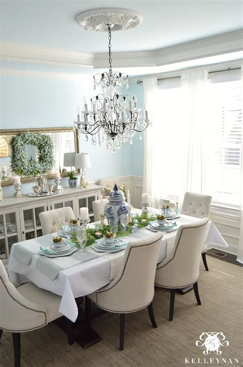 blue and white table blue and white easter table kelley nan