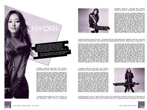layout majalah simple belajar desain grafis jenis layout majalah chirpstory