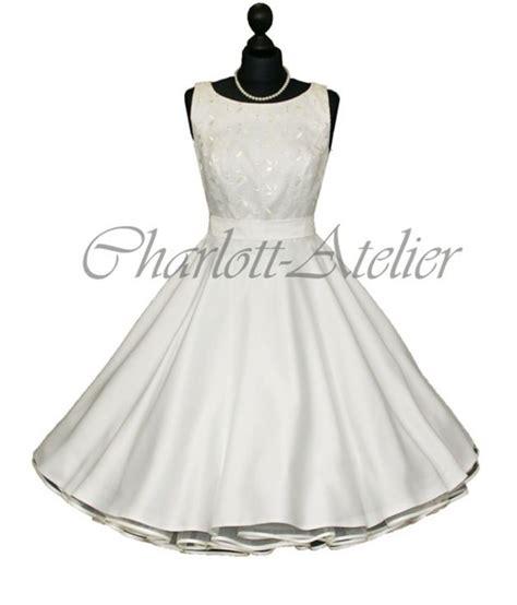 Hochzeit 50er by 50er Petticoat Kleid Hochzeit Brautkleid Wei 223 50er