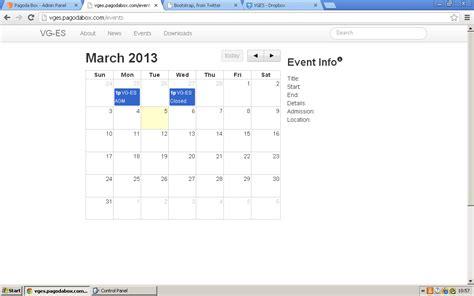 Bootstrap Calendar Bootstrap Calendar Template