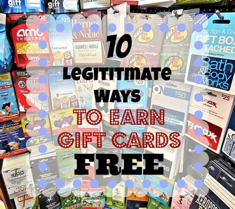Free Gift Cards 2015 - 10 legitimate ways to earn free gift cards for the holidays and beyond couponista
