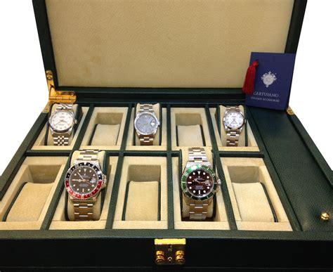 scatole porta orologi scatola portaorologi cartujano 10 orologi
