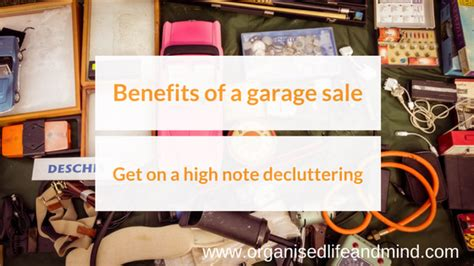 the advantages of using garage organised and mind organisation and productivity solutions for your business home and mind