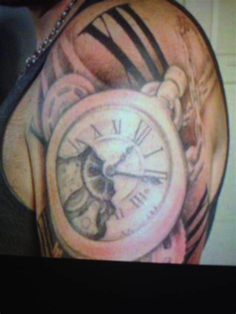 broken clock tattoo broken clock tattoos