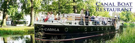 dinner on a boat belfast canal boat restaurant day out ideas and things to do in
