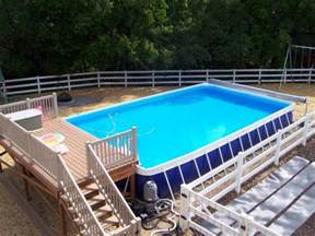 Backyard Pool Designs 40 uniquely awesome above ground pools with decks diy