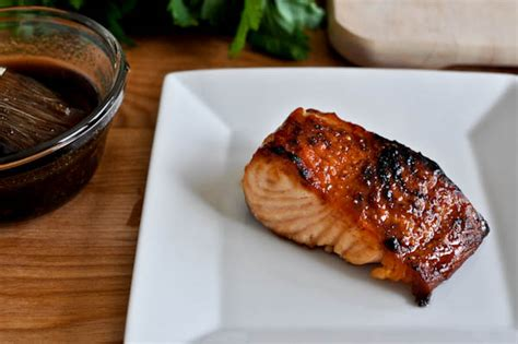 crispy bourbon glazed salmon