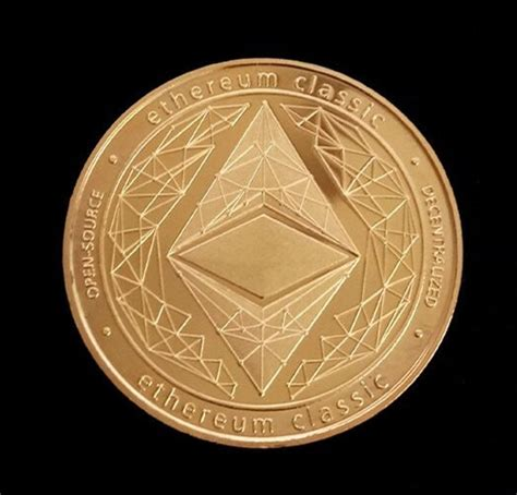 goldsilver plated ethereum coin commemorative coin art