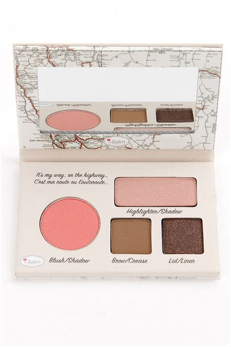 Palatte California By The Balm the balm autobalm california palette eyeshadow