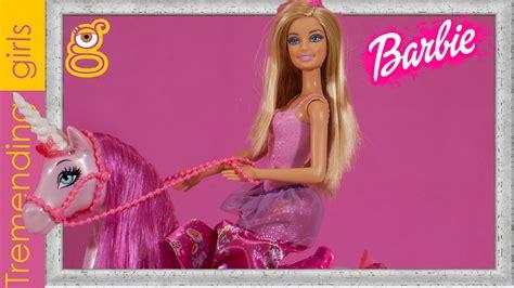 imagenes de unicornios de juguete barbie princesa y unicornio juguetes barbie mu 241 ecas en