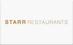 buy starr restaurants gift cards raise - Starr Restaurants Gift Card