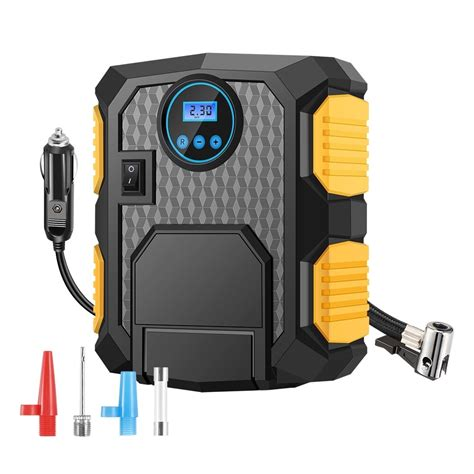 buy onever portable digital tire inflator