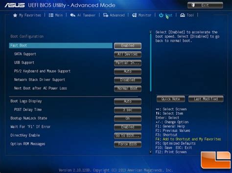 Asus Laptop Bios Uefi Boot asus a88x pro amd fm2 motherboard review page 5 of 17