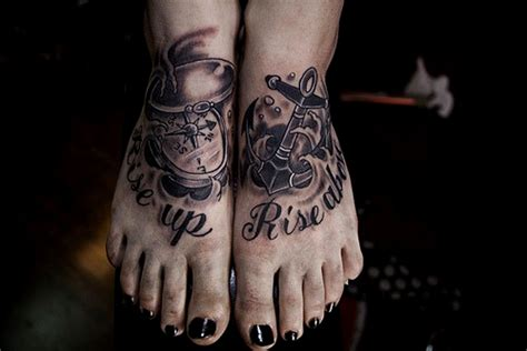 foot tattoo anchor tattoos designs ideas and meaning tattoos for you