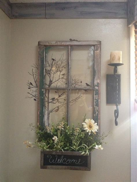 Window Pane Wall Decor by Best 25 Window Wall Decor Ideas On Rustic