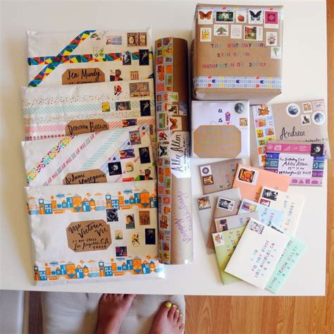 gifts by mail 1000 creative mail ideas on envelope design