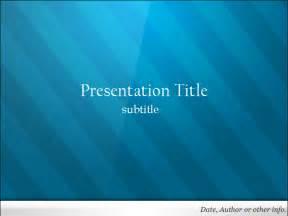 free blue powerpoint template dynamic guru