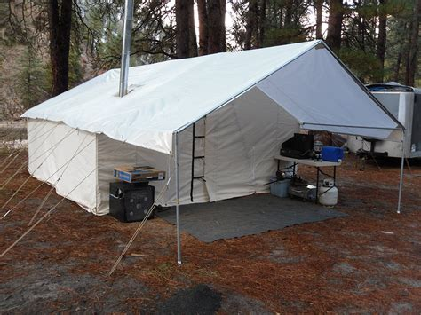 canvas tent awning canvas tents for sale outfitter tents davis tent awning