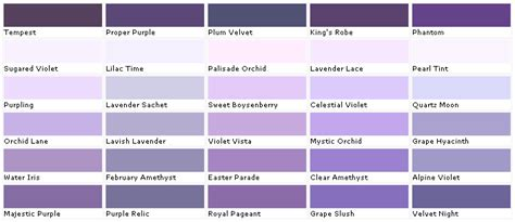 purple paint colors home decoration