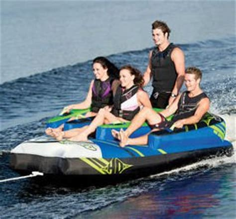 4 person boat tube ho sports atomic boat towable 4 person