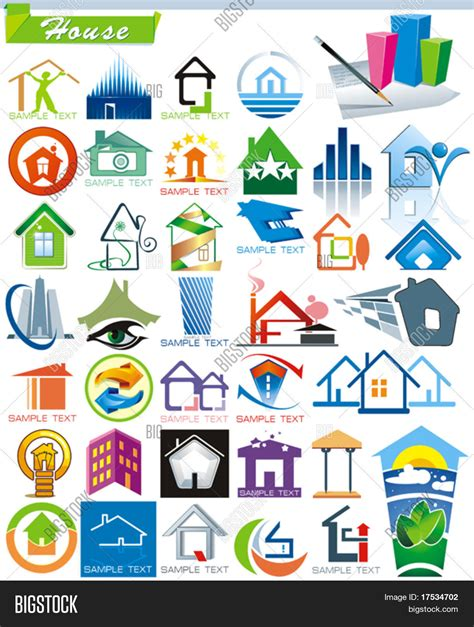 creative house names collection 5 exclusive series vector photo bigstock