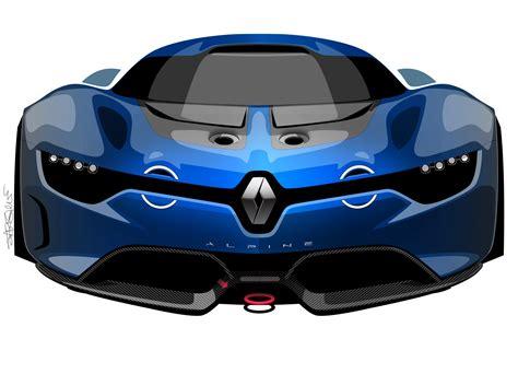 Renault Alpine Concept by Renault Alpine Concept A110 50 Live