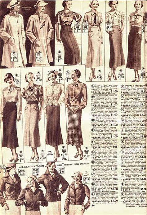 8 Advantages Of Vintage Style by Ad For Clothing From A Catalog C 1930s Vintage Looks