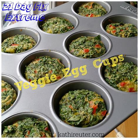 vegetables 21 day fix mini vegetable spinach egg cups 21 day fix