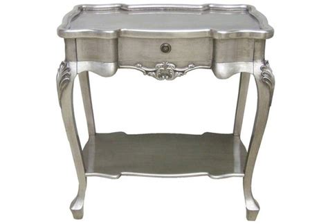 Silver Leaf Furniture by Wilkinson Furniture Dauphine Silver Leaf Tables Silver