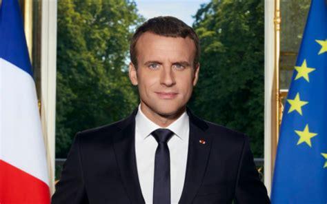emmanuel macron le president de france emmanuel macron d 233 voile son portrait officiel de pr 233 sident