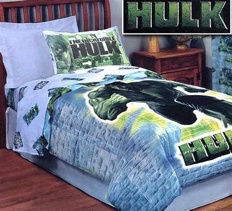 the incredible hulk full size reversible comforter full