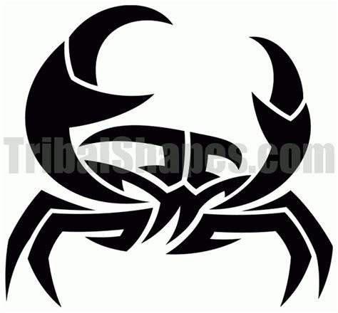 tribal crab tattoo awesome tribal crab sle tattoos book 65 000