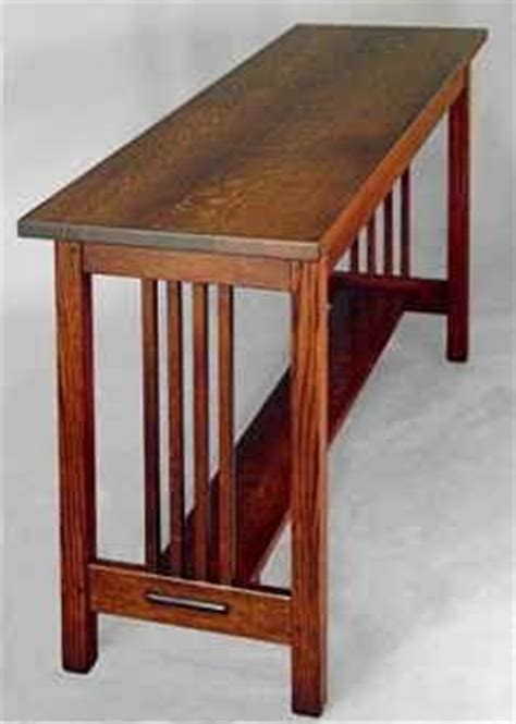 mission sofa table plans mission sofa table plans free woodworking projects plans