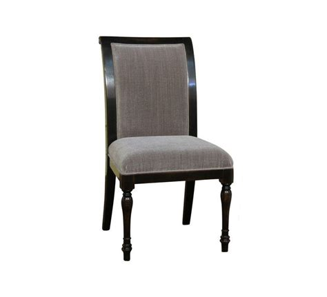 6 solid walnut high quality dining chairs with grey