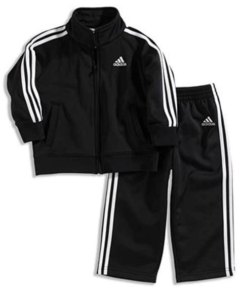 Adidas Jaket Set adidas set boys athletic jacket and