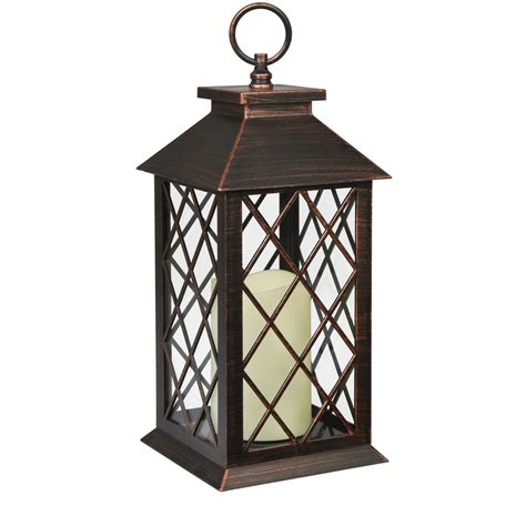 Lantern With Led Candle The Range Lights