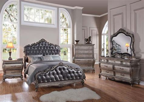 Ebay Bedroom Sets by Formal Luxury Antique Chantelle Silver Est King Size 4 Pc