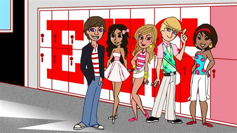 painting high school musical high school musical animated by carbonf on deviantart