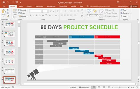 5 Best 90 Day Plan Templates For Powerpoint 30 60 90 Day Project Plan Template